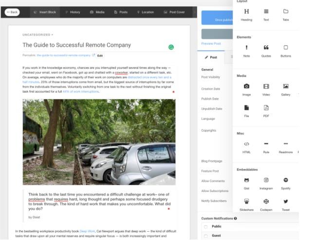 EasyBlog - компонент блога для Joomla
