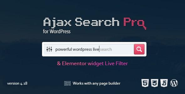 Ajax Search Pro