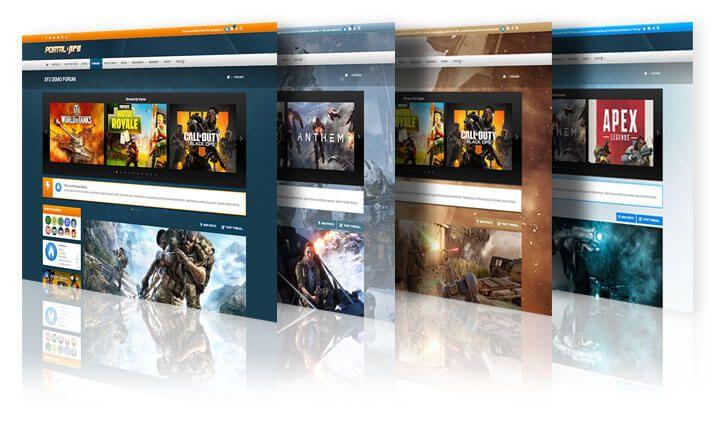Portal Pro - игровая тема для Xenforo 2