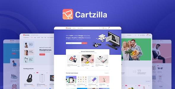 Cartzilla – удобный в использовании шаблон для создания в WordPress магазина техники