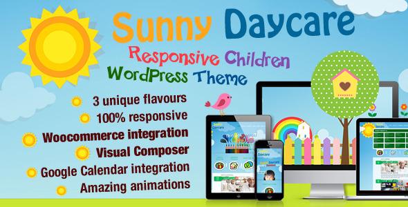 Daycare - Тема Wordpress для детского сайта