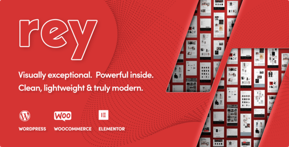 Rey – продвинутый шаблон для интернет-магазина одежды