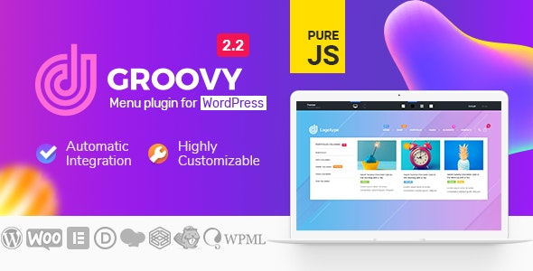 Groovy Mega Menu - мега-меню для WordPress