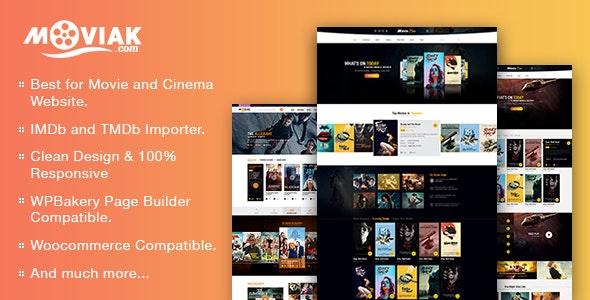 AmyMovie - шаблон для киносайта на WordPress