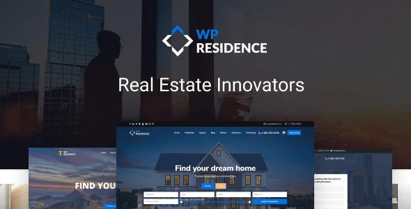 WP Residence - шаблон недвижимости WordPress