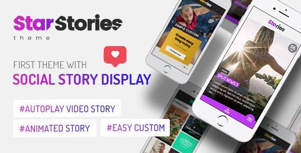 StarStories - креативная новостная тема WordPress