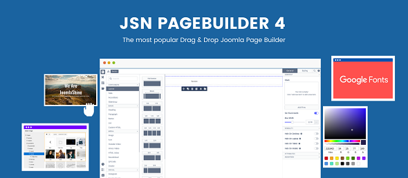 JSN PageBuilder - конструктор контента Joomla