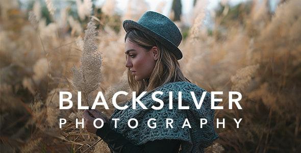 Blacksilver – стильная тема для фотографов