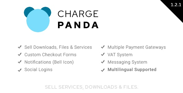 ChargePanda - Sell Downloads, Files and Services (PHP Script)