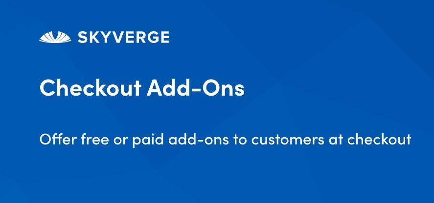 Плагин WooCommerce Checkout Add-Ons