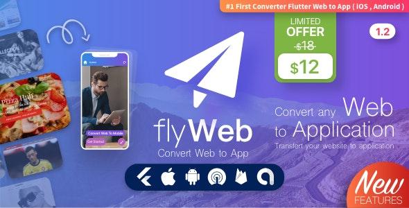 FlyWeb – удобный конвертер сайтов в классические приложения для iOS и Android