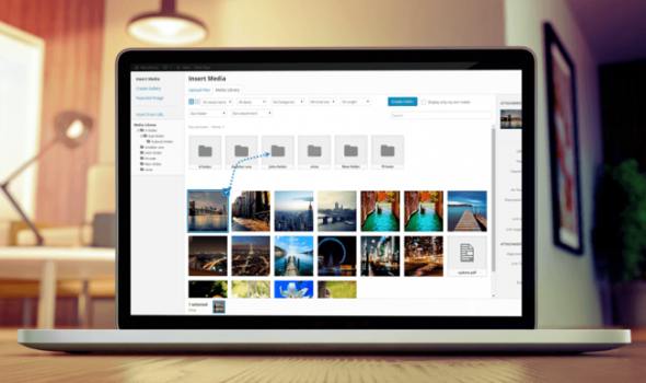 WP Media Folder - менеджер файлов WordPress