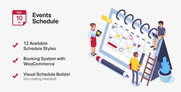 Events Schedule плагин для создании событий на базе WordPress