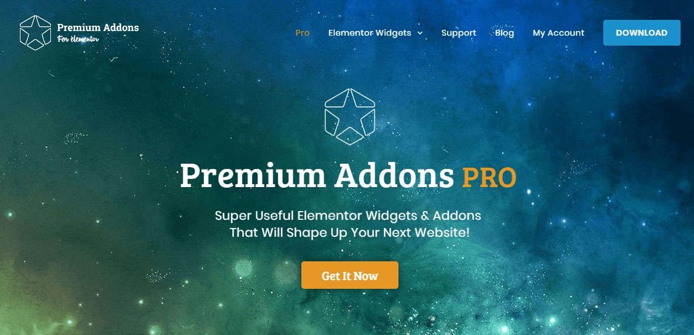 Premium Addons PRO - пакет виджетов для Elementor