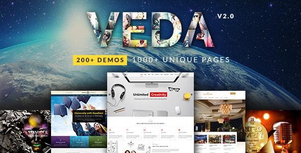 VEDA - многоцелевая тема WordPress
