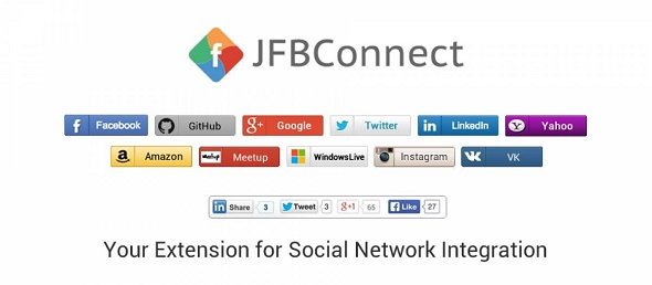 JFBConnect - авторизация через соц сети Joomla