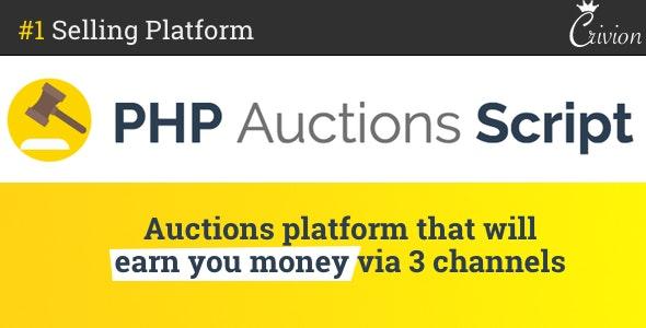 PHP Auctions Script - скрипт аукциона