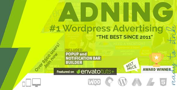 Adning Advertising - менеджер рекламы для WordPress