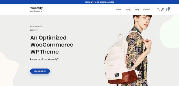 Woostify - легкая и супер гибкая тема WooCommerce
