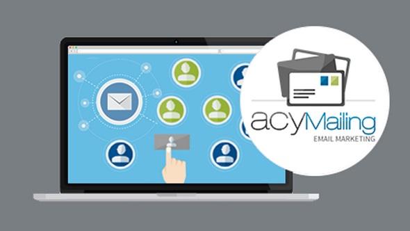AcyMailing Enterprise - почтовые рассылки для Joomla