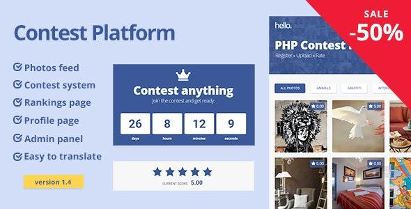 Contest Platform - скрипт конкурсов