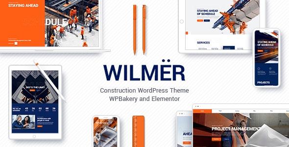 Wilmër - строительная тема WP
