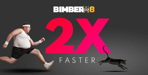 Bimber – вирусный шаблон журнала WordPress