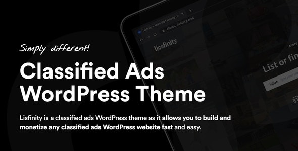 Lisfinity - тема WordPress доски объявлений