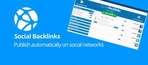 Social Backlinks - кросспостинг для Joomla