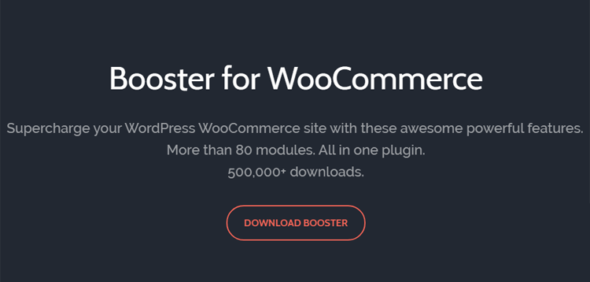Booster Plus for WooCommerce - плагин для прокачки вашего магазина WordPress