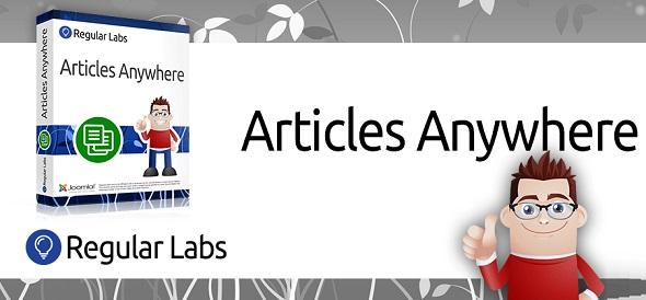 Articles Anywhere - размещение статей в любом месте Joomla