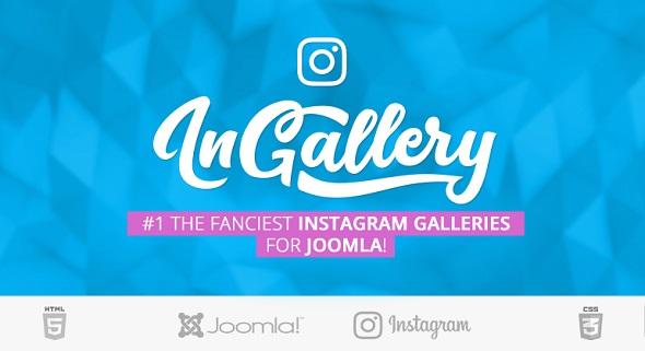 inGallery - модные Instagram галереи для Joomla