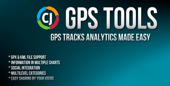 GPS Tools - компонент карт и треков для Joomla