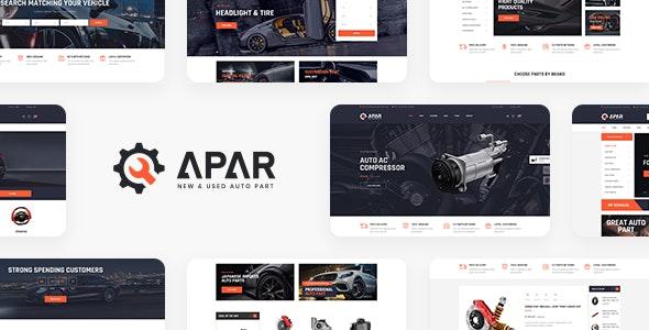 Apar - WordPress тема магазина автозапчастей