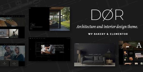 Dør - тема современной архитектуры и дизайна интерьера WordPress