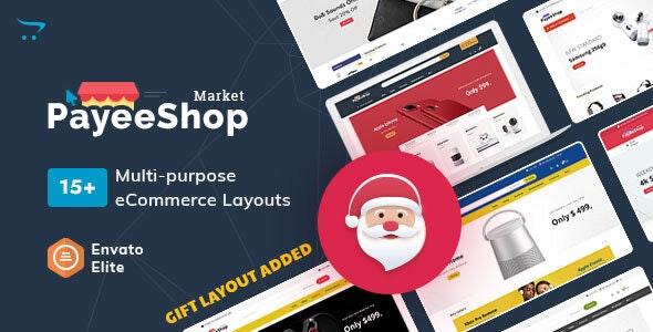 Payee Shop - многоцелевая адаптивная тема OpenCart