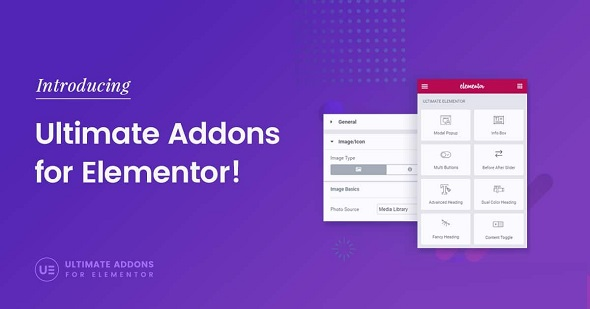 Ultimate Addons for Elementor NULLED - виджеты и модули для Elementor
