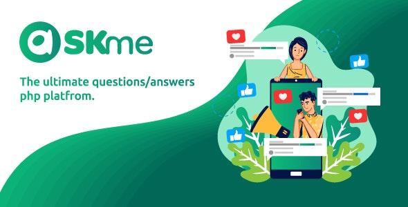 AskMe NULLED - социальная сеть для вопросов и ответов PHP