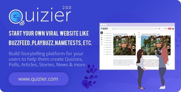Quizier - многоцелевое вирусное приложение