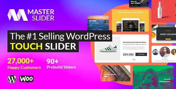 Master Slider - сенсорный плагин слайдера WordPress