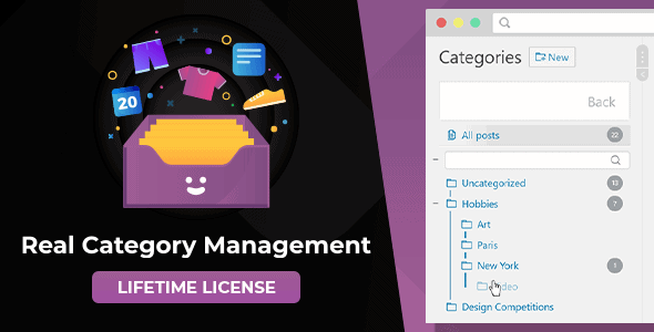 WordPress Real Category Management