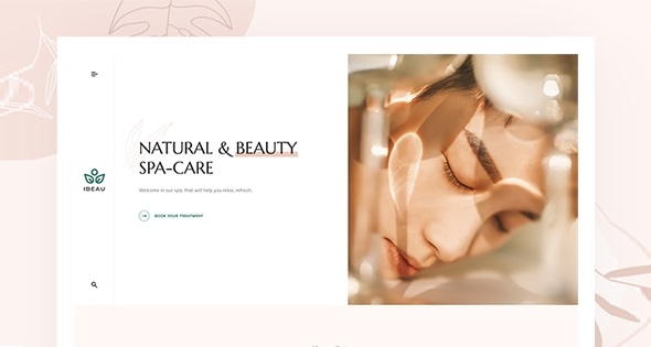 JA Spa - премиум шаблон Joomla для салона красоты