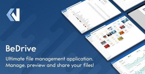 BeDrive - хостинг файлов и облачное хранилище