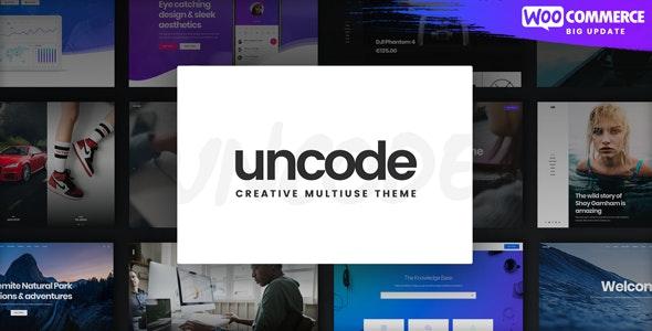 Uncode - креативный многопользовательский Wordpress шаблон
