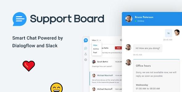 Support Board - чат и справочная служба для WordPress