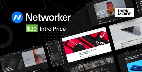 Networker - тема WordPress для новостей о технологиях