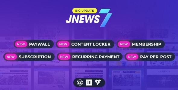 JNews - новостной шаблон WordPress