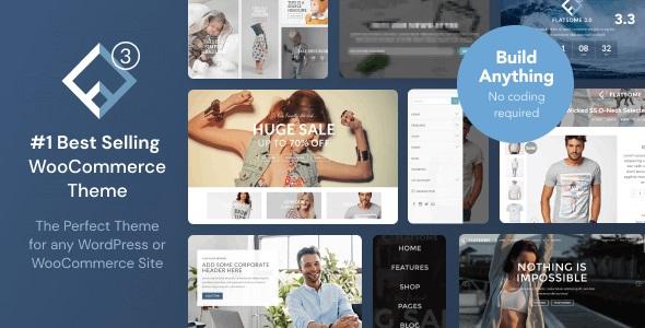 Flatsome NULLED - адаптивная WooCommerce тема WordPress