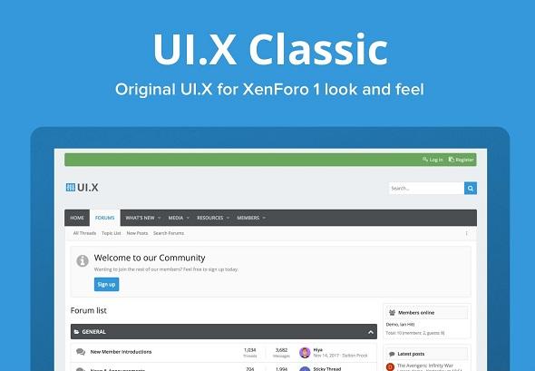 UI.X Classic