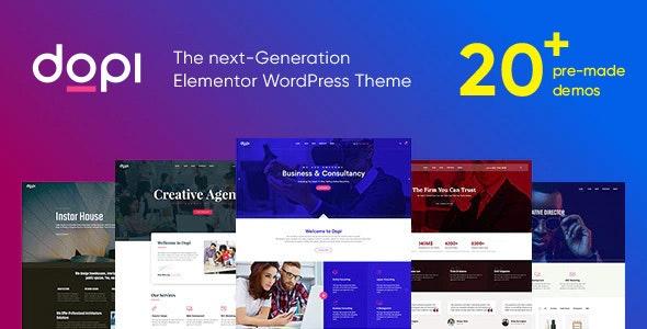 Dopi - Elementor универсальная тема WordPress